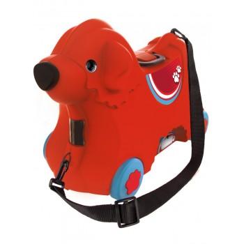 Детский чемодан на колесиках красный BIG 55350